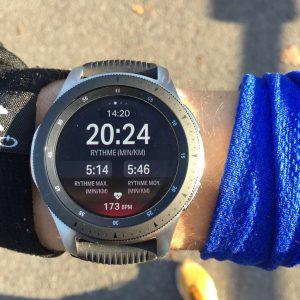 Running Galaxy Watch