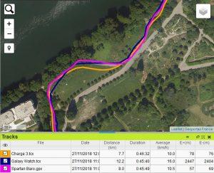 Trace GPS ile