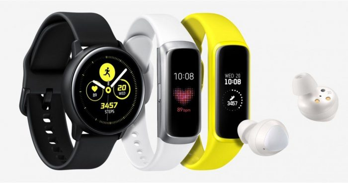 Annonce wearables Samsung