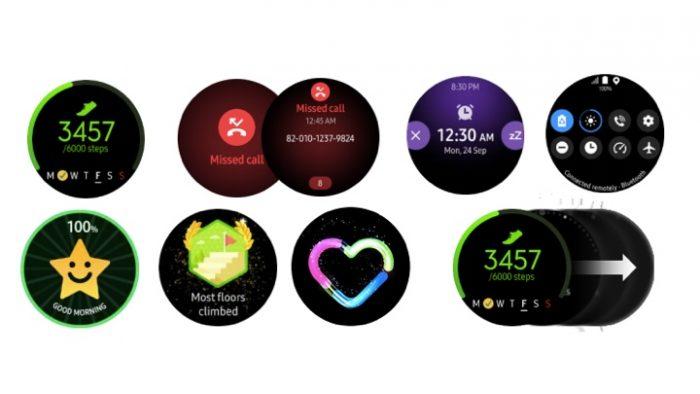 Widgets Samsung Galaxy Watch Active