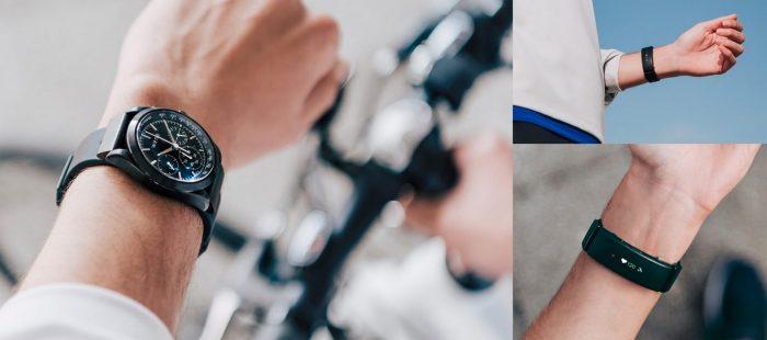 Sony Wena Wrist Pro et Wena Wrist Active