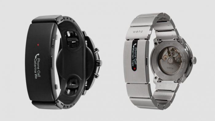 bracelets Sony Wena Wrist