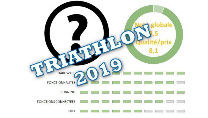 Les meilleures montres GPS triathlon 2019