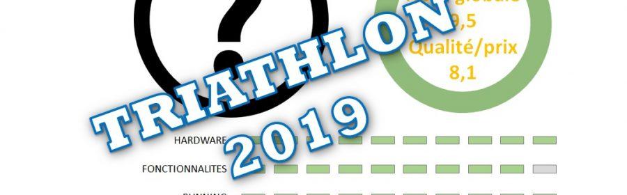 Meilleure montre GPS triathlon 2019