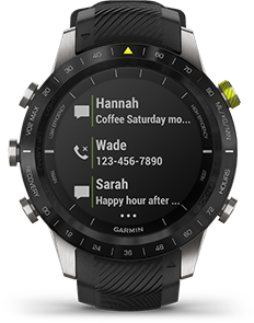 Garmin MARQ smart notifications