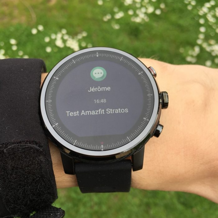 Amazfit Stratos montre connectée