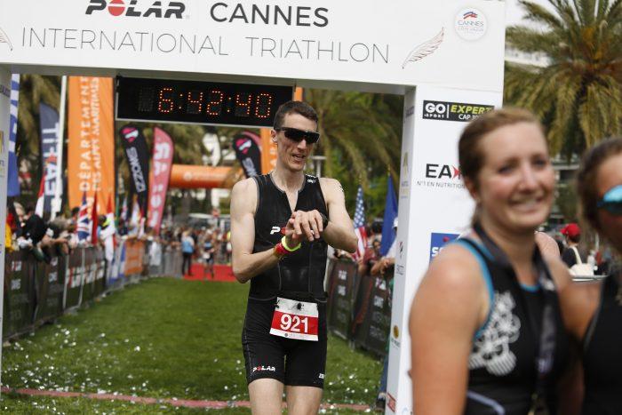 Arrivée triathlon de Cannes