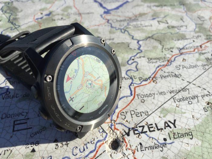 Avis montre GPS randonnée