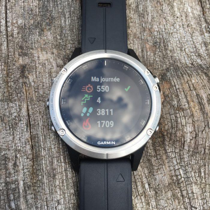 Fenix 5 Plus tracker d'activité
