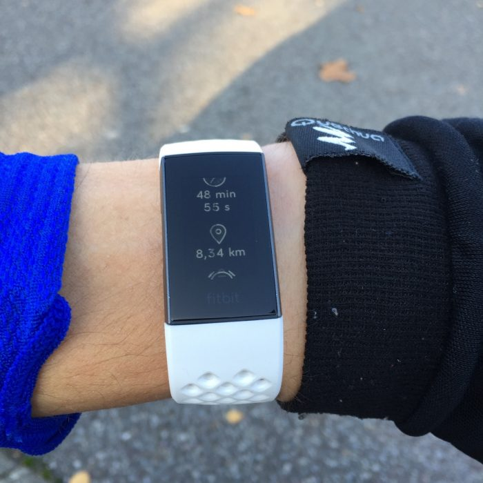 Fitbit Charge 3 running