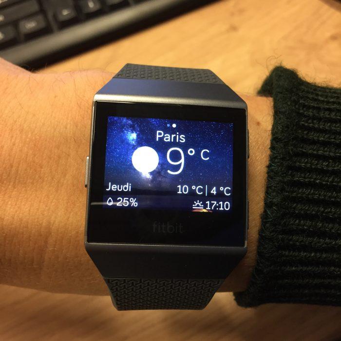 Fitbit Ionic montre connectée