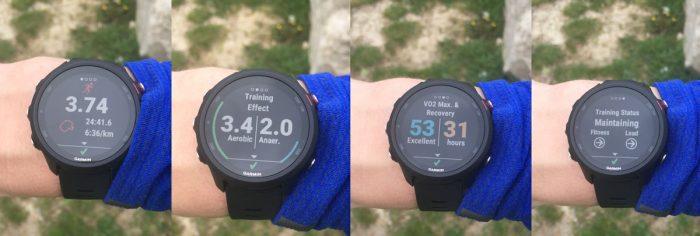 Forerunner 245 running