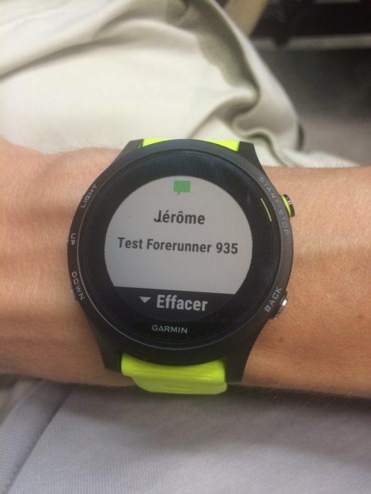Forerunner 935 smart notifications