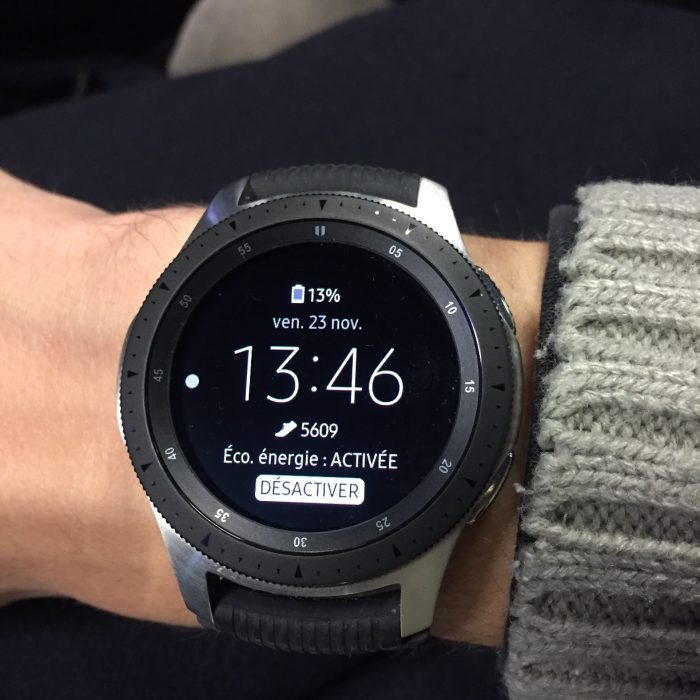 Galaxy Watch mode économie