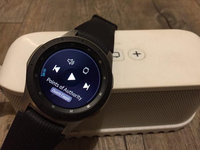 Galaxy Watch montre connectée