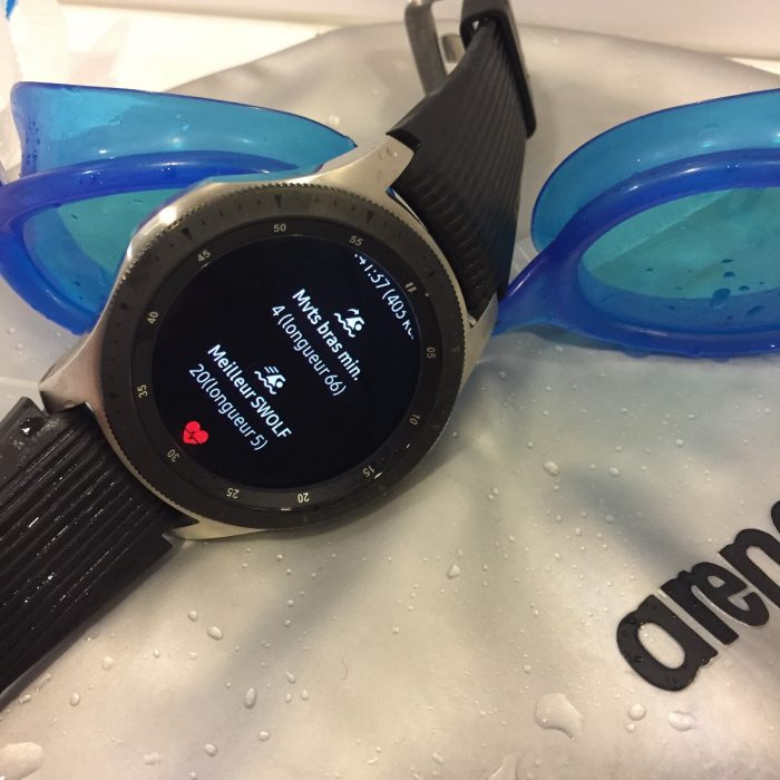 Galaxy Watch natation