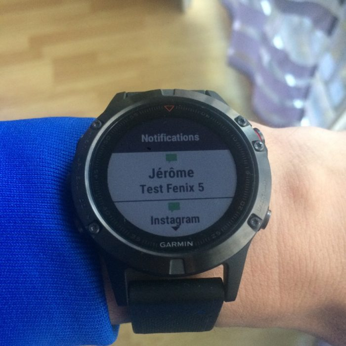 Garmin Fenix 5 montre connectée