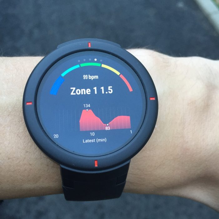 Montre running Amazfit Verge