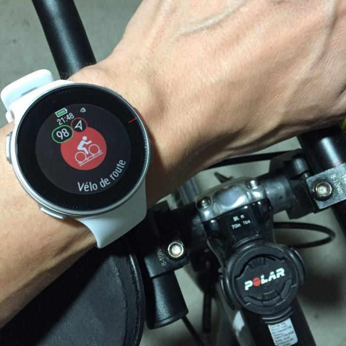 Polar Vantage V vélo