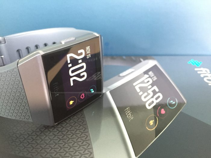 Présentation Fitbit Ionic