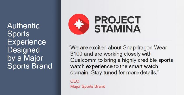 Qualcomm project stamina