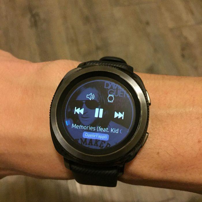 Samsung Gear Sport lecteur musique