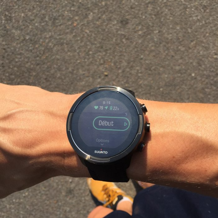 Suunto 9 batterie intelligente