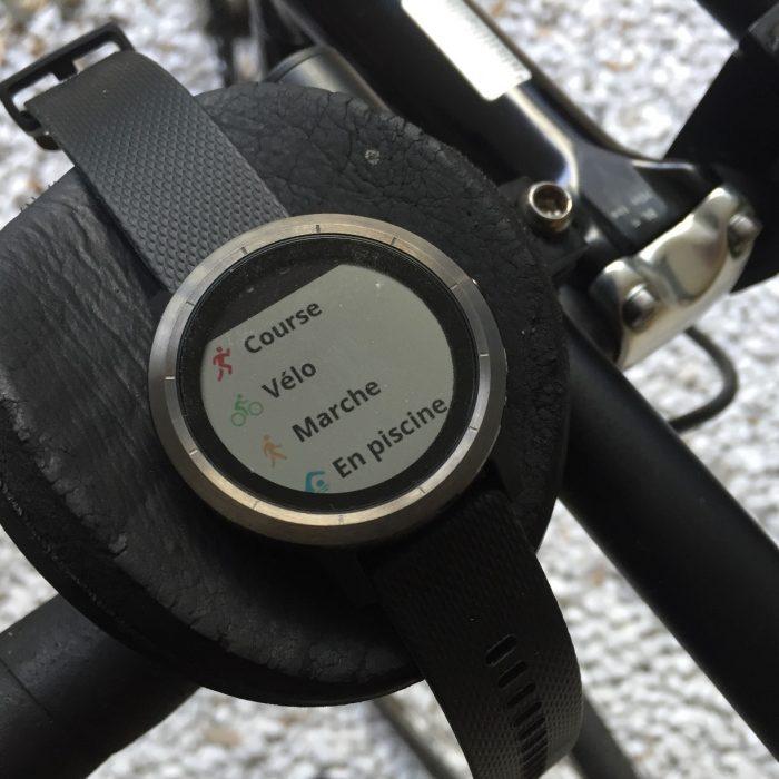 Vivoactive 3 vélo 2