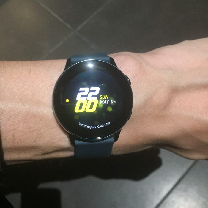 Avis Galaxy Watch Active