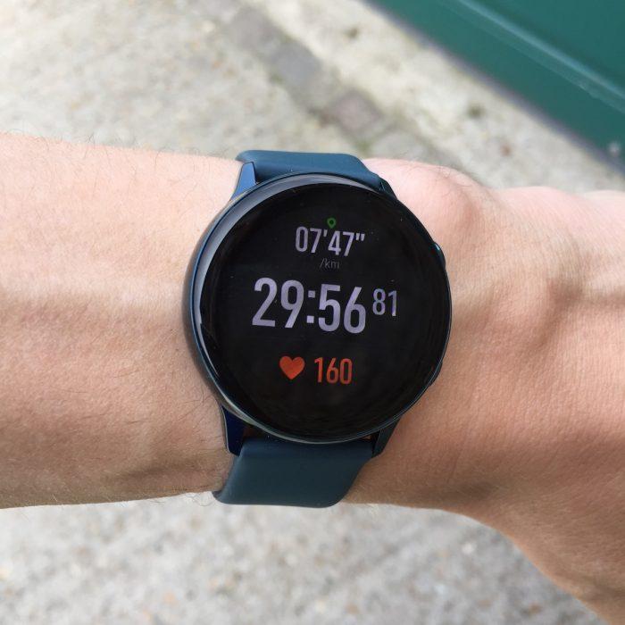 Montre connectée running