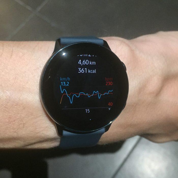 Précision Galaxy Watch Active