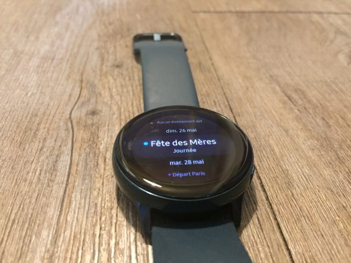 Présentation Galaxy Watch Active