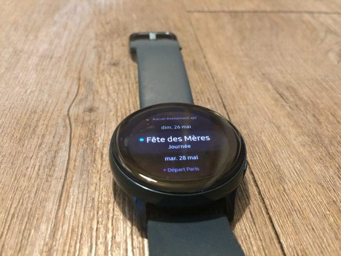 Présentation Galaxy Watch Active