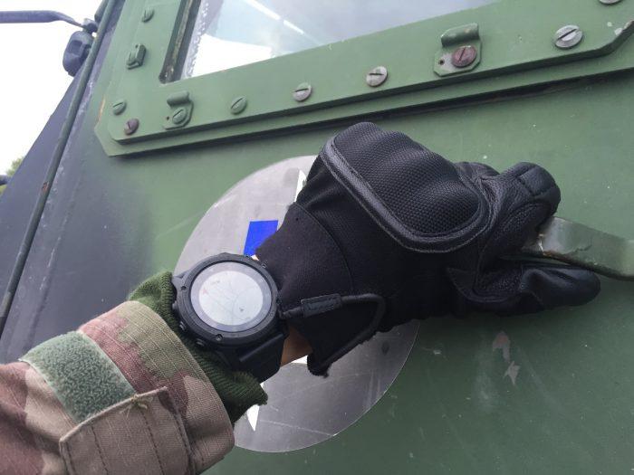Test Tactix Charlie militaire