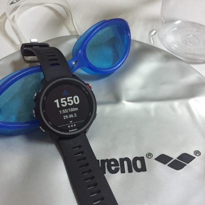 Forerunner 245 natation