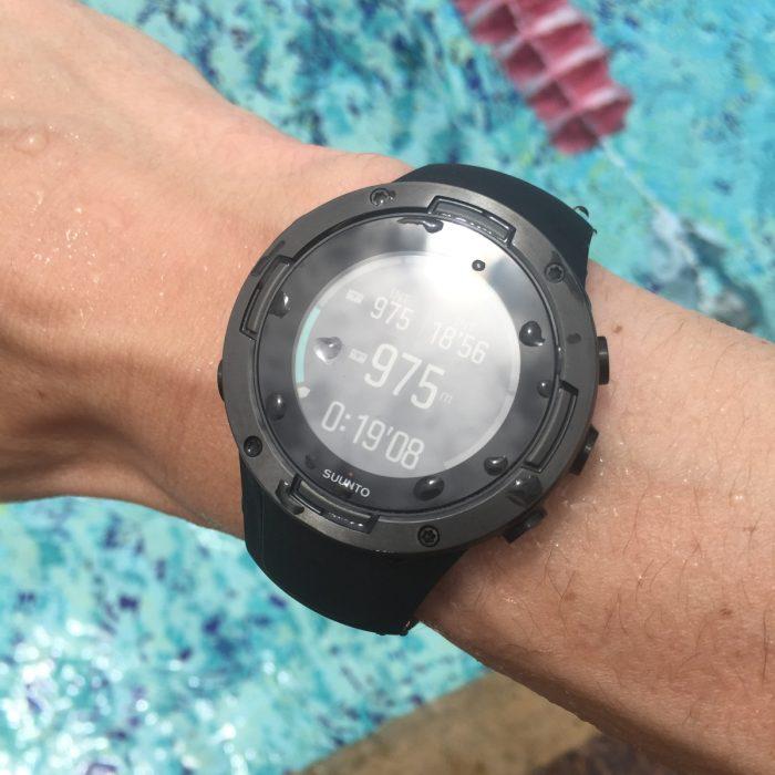 Suunto 5 natation
