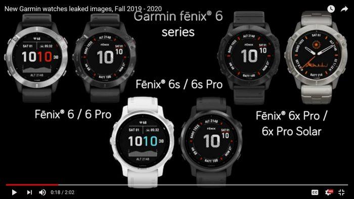 Fenix 6 / Fenix 6 Pro