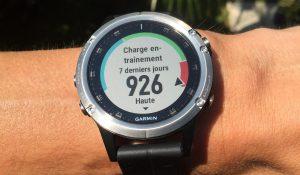 Montre GPS blessure