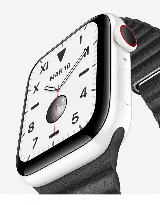 Présentation Apple Watch 5