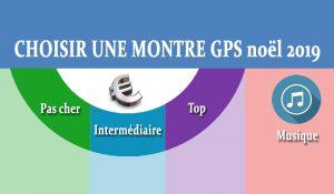Choisir montre GPS noel 2019