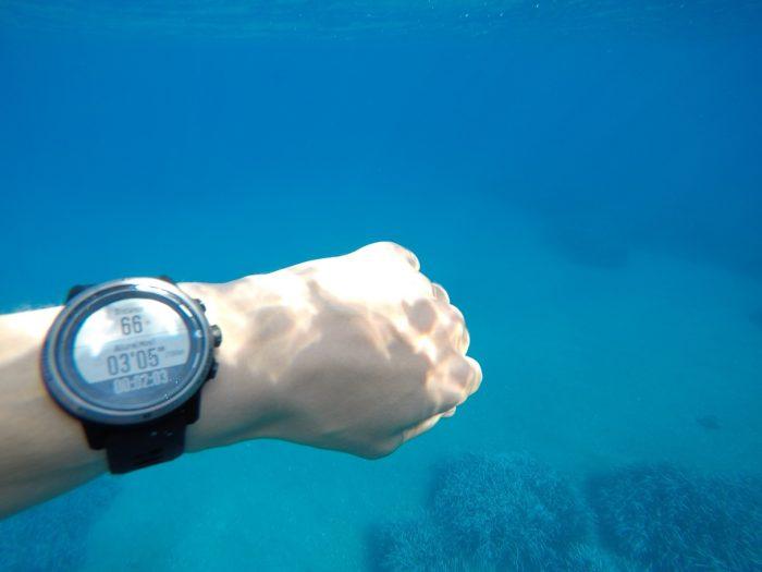 Coros Apex Pro natation
