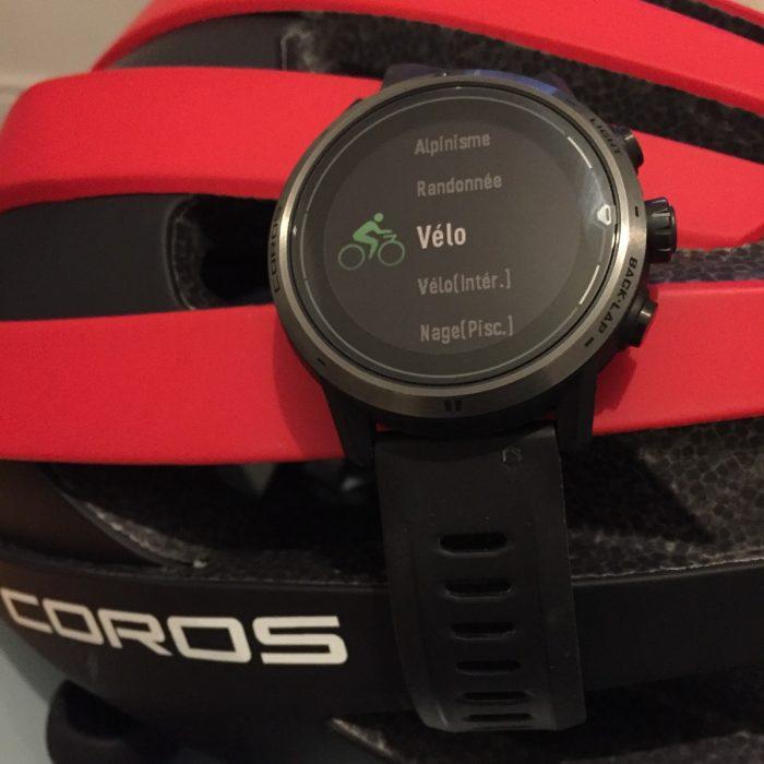 Coros Apex Pro vélo