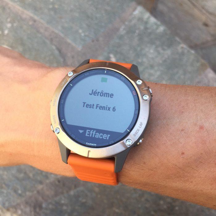 Fenix 6 montre connectée