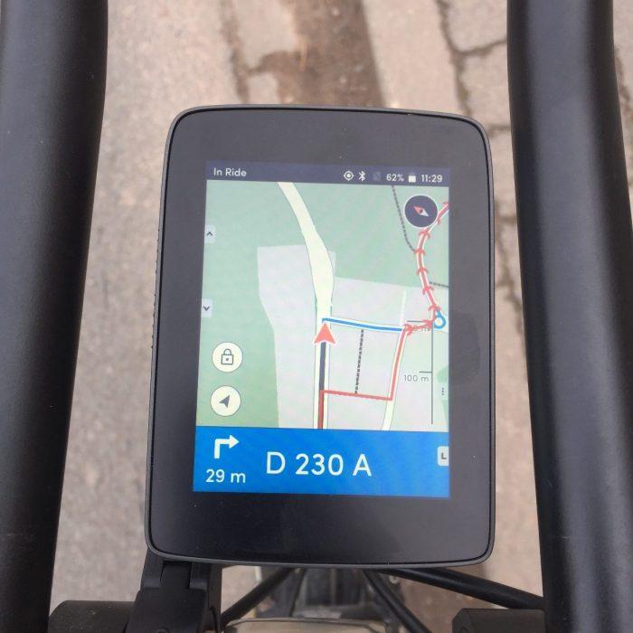Hammerhead Karoo navigation