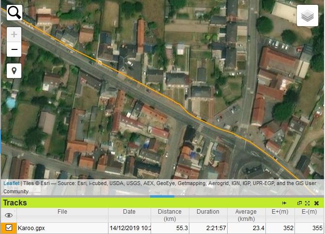 Précision GPS Hammerhead Karoo