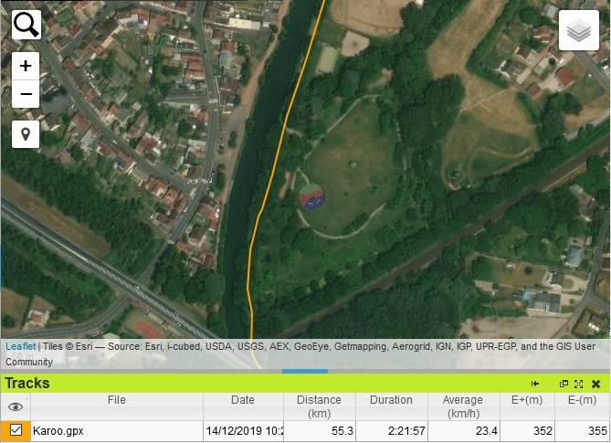 Trace GPS Hammerhead Karoo
