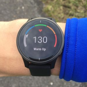 Garmin Venu running
