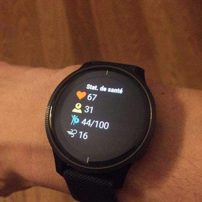 Garmin Venu activity tracking