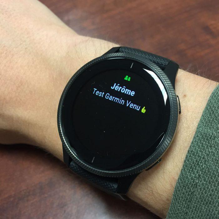 Test Garmin Venu : une montre GPS Garmin pas comme les