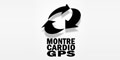 Logo montre cardio GPS rectangle